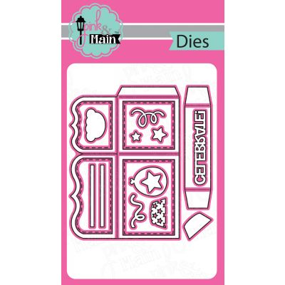 Pink & Main Dies Box Card - PNM112