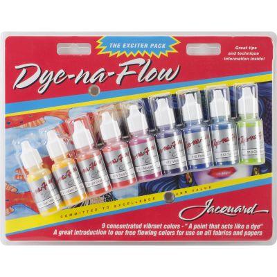 Jacquard Dye Na Flow Exciter Pack .5Oz 9/Pkg  - JAC9908