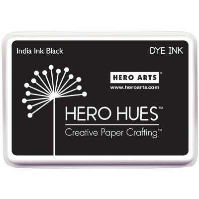 Hero Arts Dye Ink Pad India Ink Black - AF248