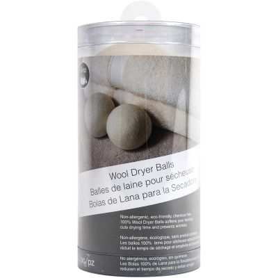 Dritz Clothing Care Wool Dryer Balls 2/Pkg  - 82643