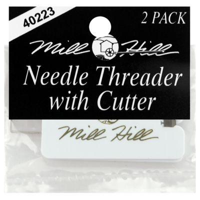 Mill Hill Needle Threader & Cutter 2/Pkg  - 40223