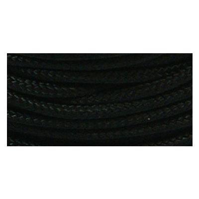 Parachute Cord 1.9Mmx100' Black - PARA95-10024