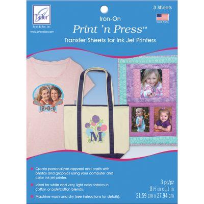 Print 'N Press Iron On Transfer Paper 8.5