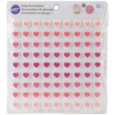 Icing Decorations Micro Mini Hearts Dot Matrix - W100233