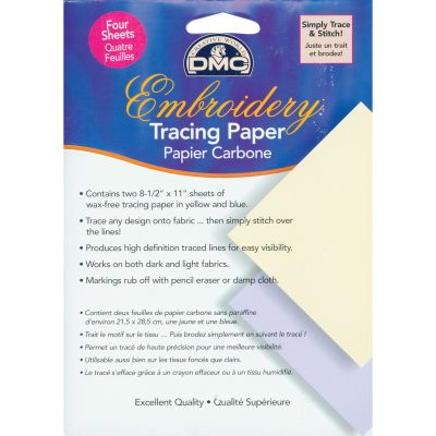 Dmc Embroidery Tracing Paper 8.5