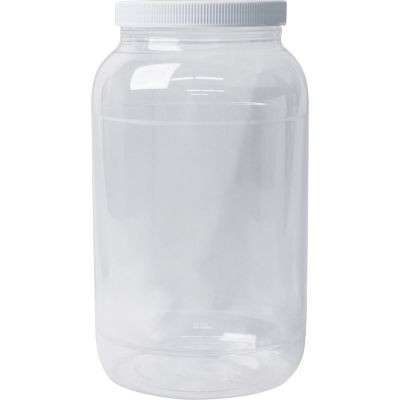 Jacquard Empty Wide Mouth Galoon Plastic Jug Clear - ACC1798