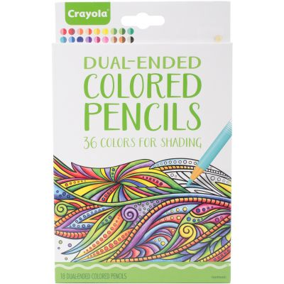 Crayola Dual Ended Colored Pencils For Shading  - 68-6818