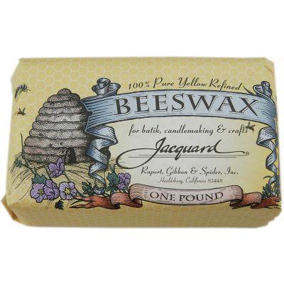 Jacquard Beeswax 1Lb Yellow - 9901102