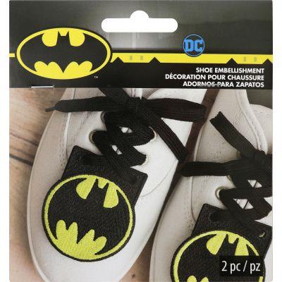 Wrights Dc Comics Shoe Embellishment Bat Man 2.5