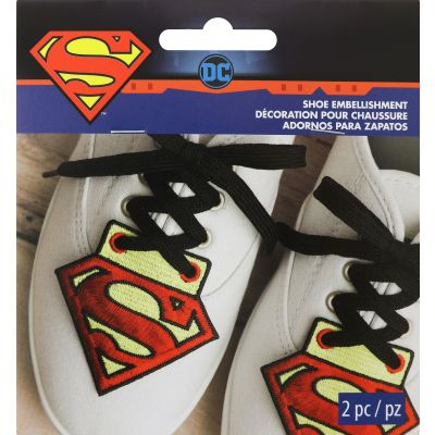 Wrights Dc Comics Shoe Embellishment Superman 3.07