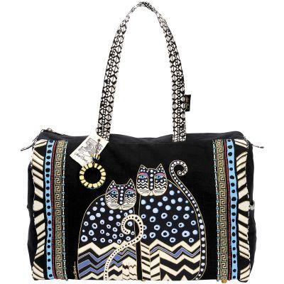 Laurel Burch Travel Bag Zipper Top 21