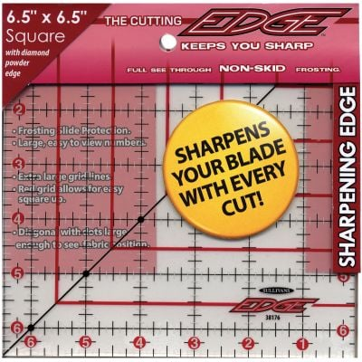 Sullivans The Cutting Edge Frosted Ruler 6 1/2