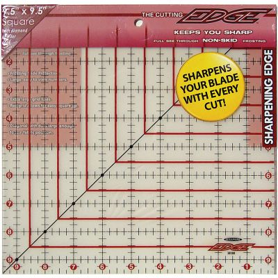 Sullivans The Cutting Edge Frosted Ruler 9 1/2