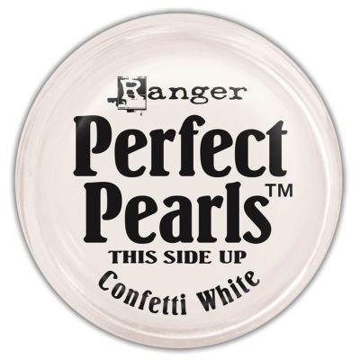 Ranger Perfect Pearls Pigment Powder .25Oz Confetti White - PPP-36807