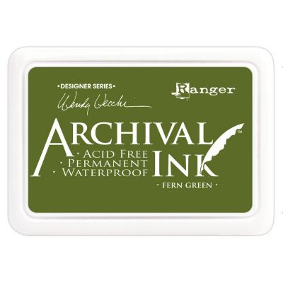 Wendy Vecchi Archival Ink Pad Fern Green - AID-38962