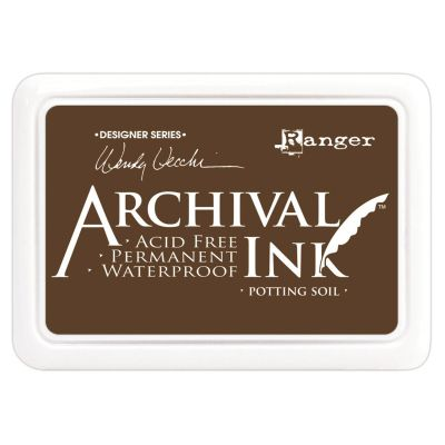 Wendy Vecchi Archival Ink Pad Potting Soil - AID-38979