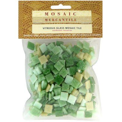 Vitreous Glass Mosaic Tiles .5Lb Landscape - LSMINI