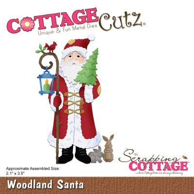 Cottagecutz Die Woodland Santa - CC358