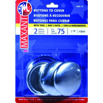 Maxant Button Cover Button Kit Size 75 1 7/8