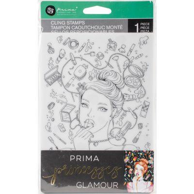 Prima Princesses Cling Stamp 5