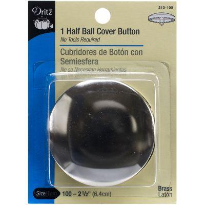 Dritz Half Ball Cover Buttons 2 1/2
