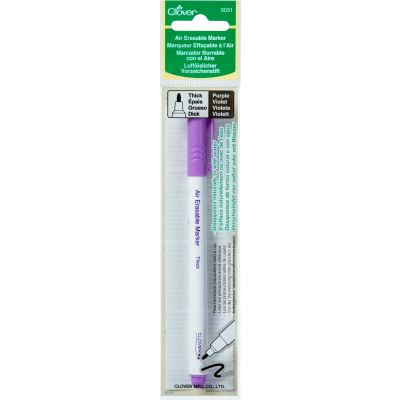 Clover Air Erasable Marker  Thick Purple - 5031