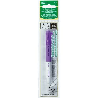 Clover Air Erasable Marker W/Eraser Purple - 5032