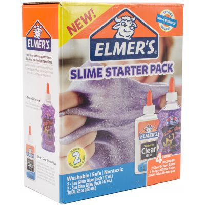 Elmer'S Slime Kit 4/Pkg Purple - E2022922