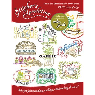 Stitcher'S Revolution Iron On Transfers Spice Of Life - SR-25