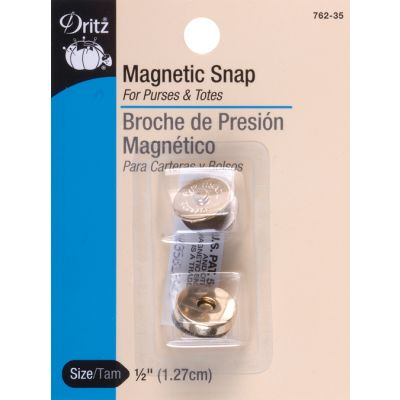 Dritz Round Magnetic Snap 1/2