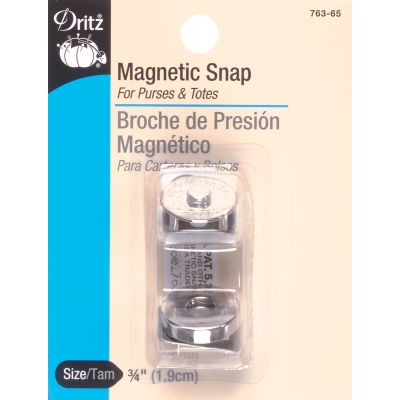 Dritz Round Magnetic Snap 3/4
