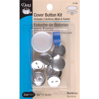 Dritz Cover Button Kits Size 30 3/4