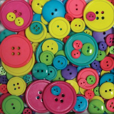 Blumenthal Favorite Findings Big Bag Of Buttons Carnival 3.5Oz - 5500-2002