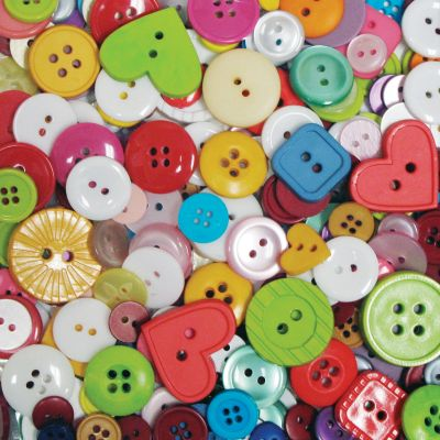 Blumenthal Favorite Findings Big Bag Of Buttons Multicolor 4Oz - 5500-2009