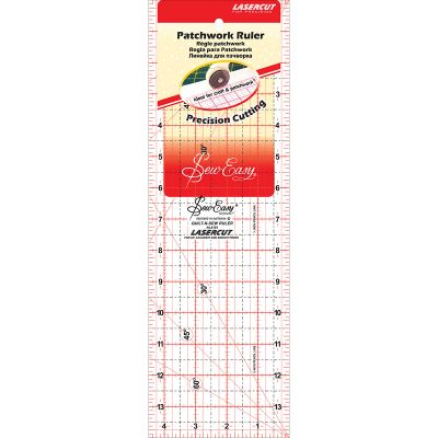 Tacony Seweasy Patchwork Quilt Ruler 14