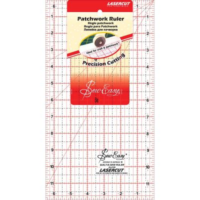 Tacony Seweasy Patchwork Quilt Ruler 12