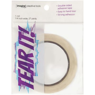 Tear It! Double Sided Adhesive Tape .25
