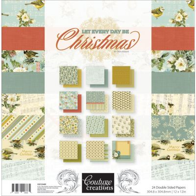 Couture Creations Double Sided Paper Pad 12