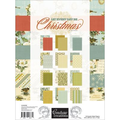 Couture Creations A4 Double Sided Paper Pad 36/Pkg A4 8.2