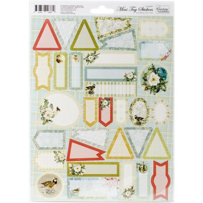 Couture Creations Let Every Day Be Christmas A4 Stickers Mini Tags 33/Pkg - CO725491