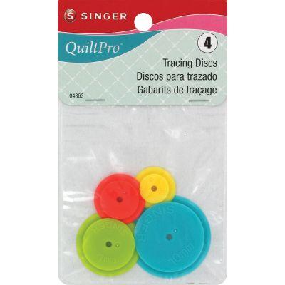 Singer Quiltpro Tracing Discs 4/Pkg - 4363