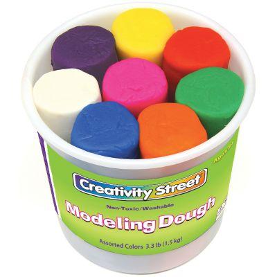 Modeling Dough 4Oz 8/Pkg Assorted Colors - 4095