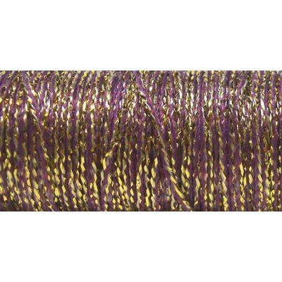 Kreinik Very Fine Metallic Braid #4 12Yd Golden Cabernet - VF-5845