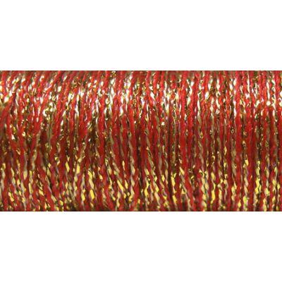 Kreinik Fine Metallic Braid #8 11Yd Golden Pimento - F-5805