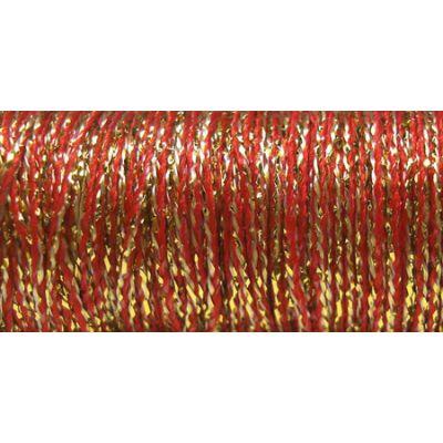 Kreinik Metallic Tapestry Braid #12 11Yd Golden Pimento - T-5805