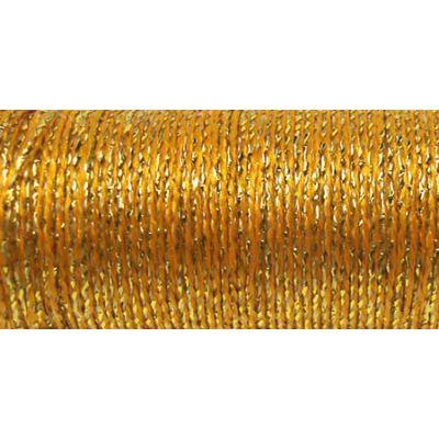 Kreinik Medium Metallic Braid #16 11Yd Golden Chardonnay - M-5815