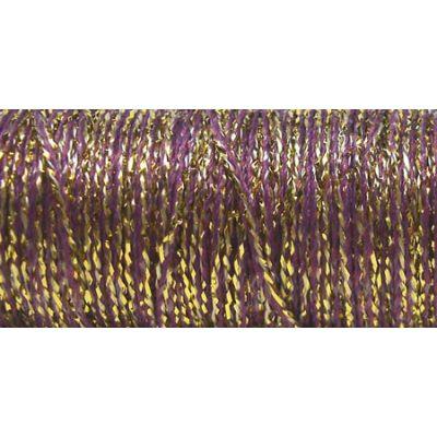Kreinik Medium Metallic Braid #16 11Yd Golden Cabernet - M-5845