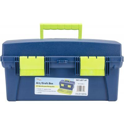 Pro Art Storage Box W/Lift Out Organizer Tray 16