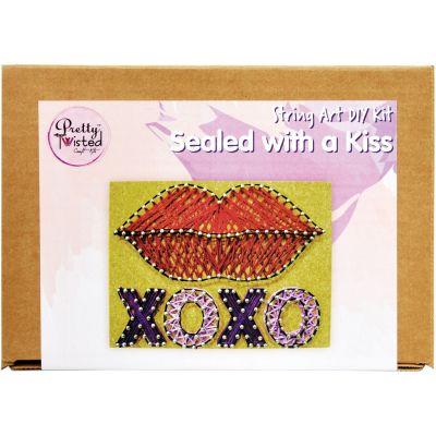 Pretty Twisted String Art Diy Kit Sealed With A Kiss - PTSA-SAK