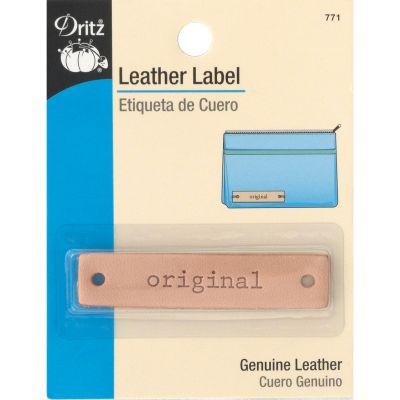 Dritz Leather Label Original Rectangle - 771